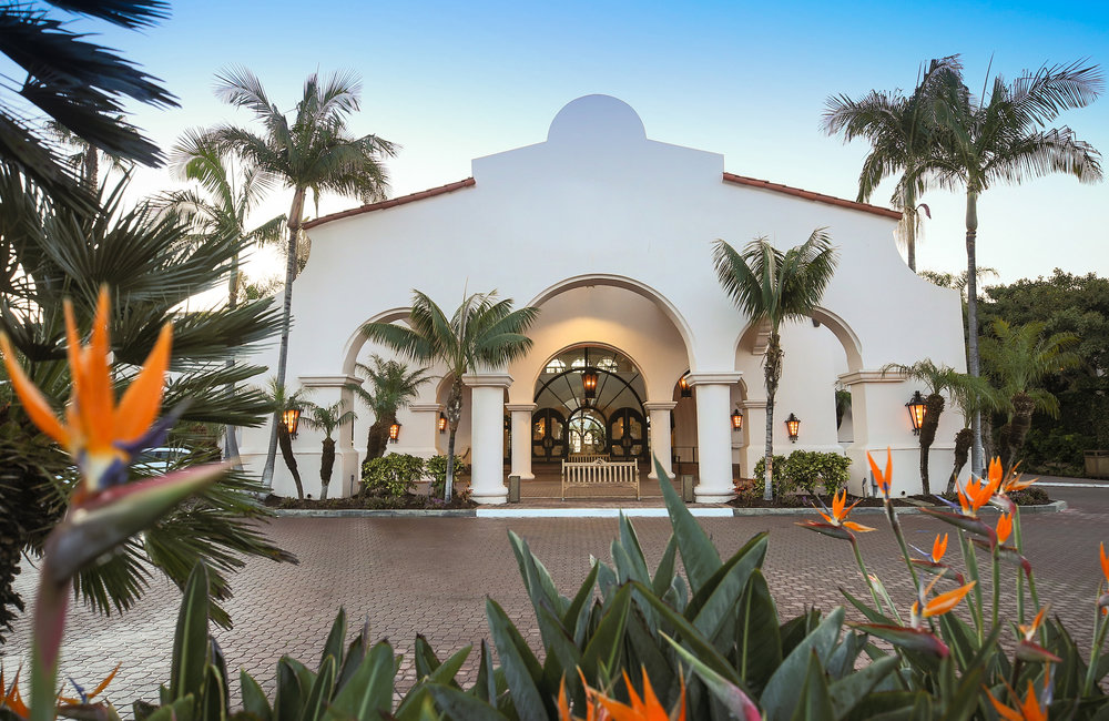 www.santabarbarawedding.com | The Fess Parker Doubletree by Hilton Resort