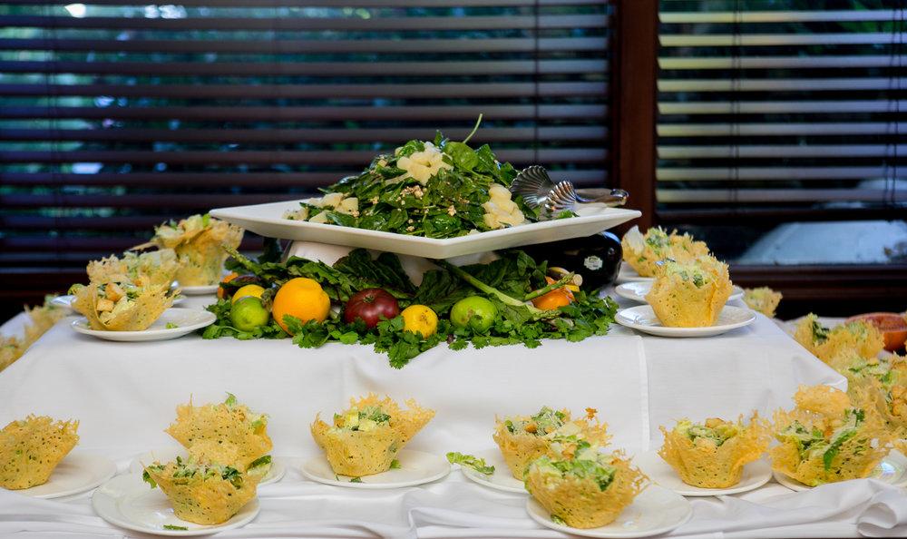 www.santabarbarawedding.com | Philip Van Nostrand | Riviera Mansion | Reception Food