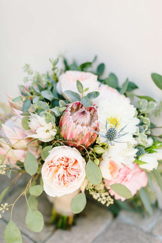 www.santabarbarawedding.com | Jodee Debes | Dos Pueblos Orchid Farm | Bridal Bouquet