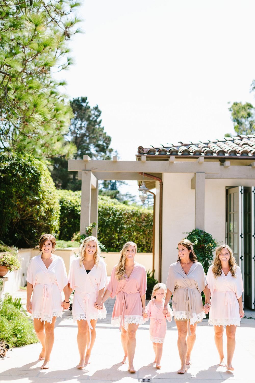 www.santabarbarawedding.com | Jodee Debes | Dos Pueblos Orchid Farm | Bridesmaids