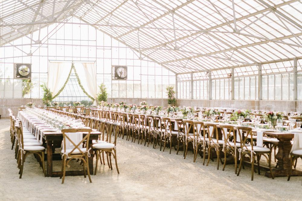 www.santabarbarawedding.com | Jodee Debes | Dos Pueblos Orchid Farm | Reception