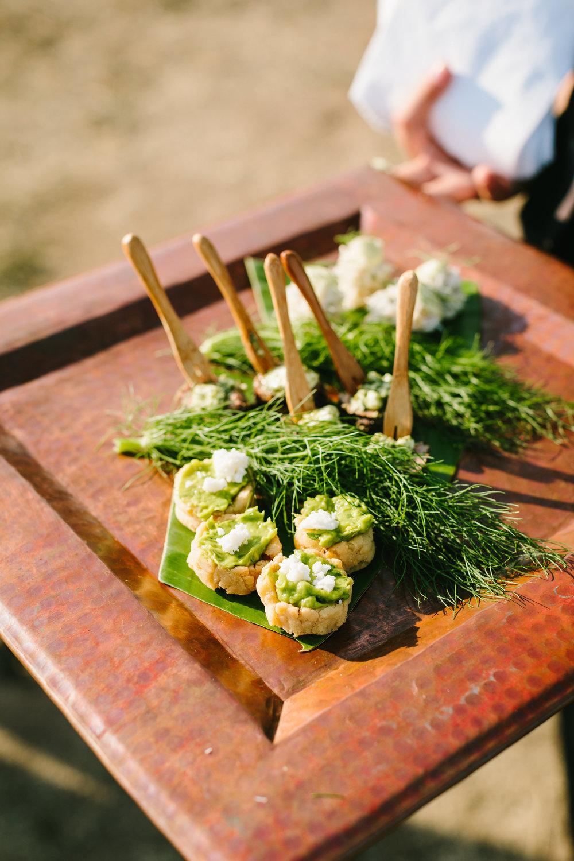 www.santabarbarawedding.com | Jodee Debes | Dos Pueblos Orchid Farm | Appetizers