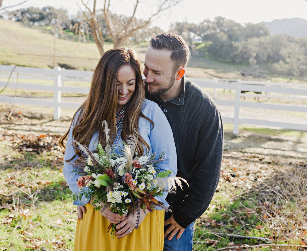 www.santabarbarawedding.com | Taylor Rea Photography | Folded Hills Ranch | Engagement Session