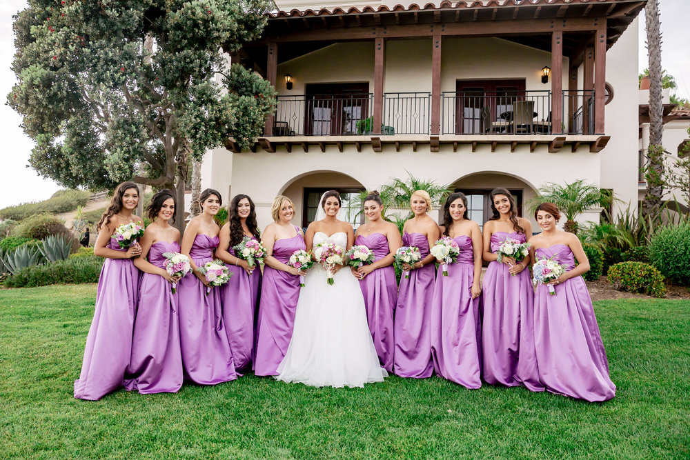 www.santabarbarawedding.com | Bacara Resort | Rewind Photography | Elegant Sofreh Design | bridesmaids