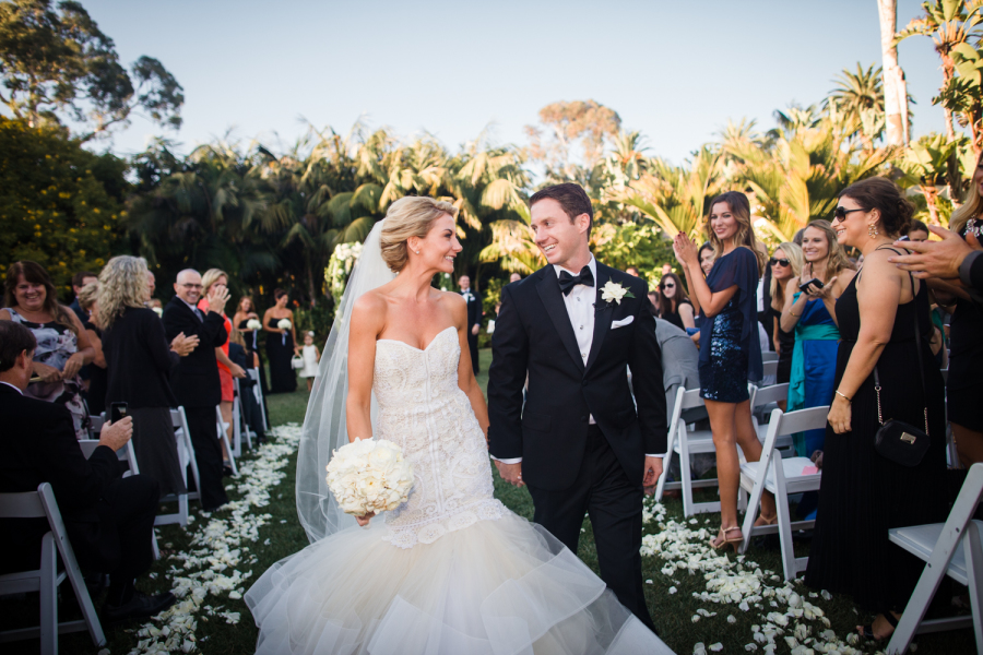www.santabarbarawedding.com | Ann Johnson Events | Jessica Lewis | The Biltmore | Ceremony