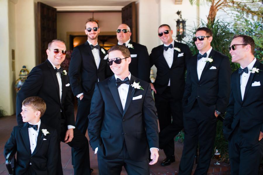 www.santabarbarawedding.com | Ann Johnson Events | Jessica Lewis | The Biltmore | Groomsmen
