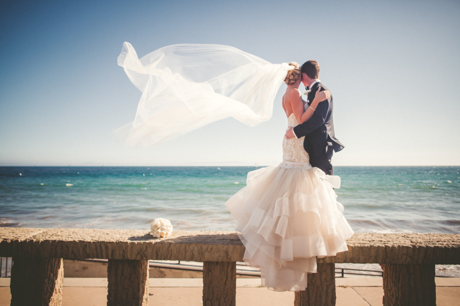 www.santabarbarawedding.com | Ann Johnson Events | Jessica Lewis | The Biltmore | Bride and Groom