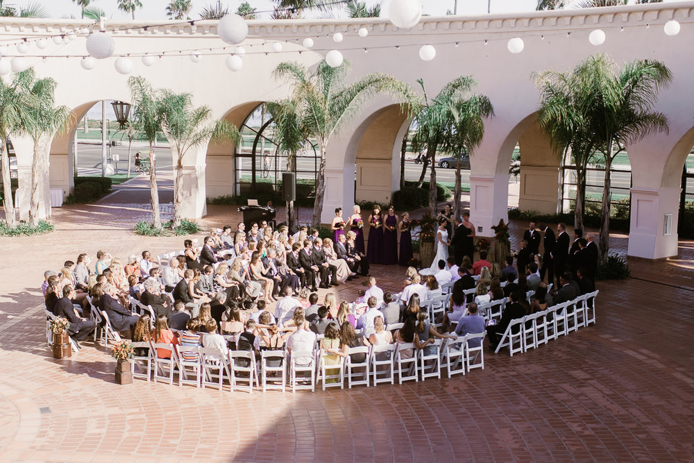 www.santabarbarawedding.com | Clarissa Koenig | Felici Events | Hilton Santa Barbara Beachfront Resort | Ceremony