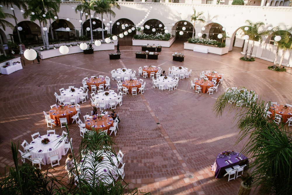 www.santabarbarawedding.com | Clarissa Koenig | Felici Events | Hilton Santa Barbara Beachfront Resort | Reception
