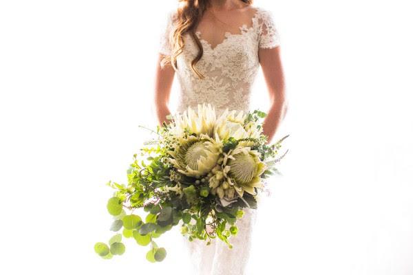 Elegant Bohemian Four Seasons Wedding