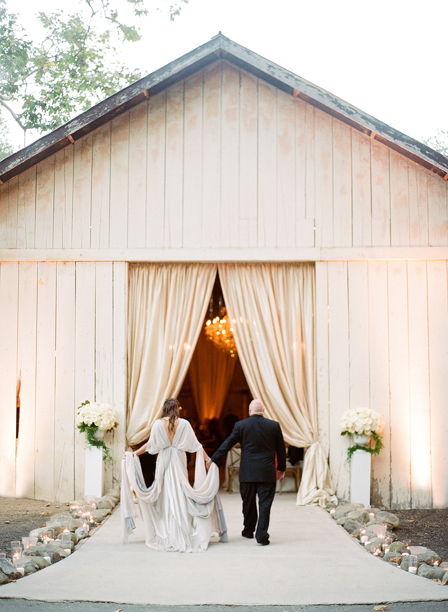 www.santabarbarawedding.com | Dos Pueblos Ranch | Soigne Productions | Lacie Hansen | Reception Entrance