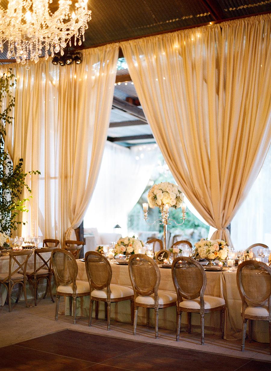 www.santabarbarawedding.com | Dos Pueblos Ranch | Soigne Productions | Lacie Hansen | Reception Tables