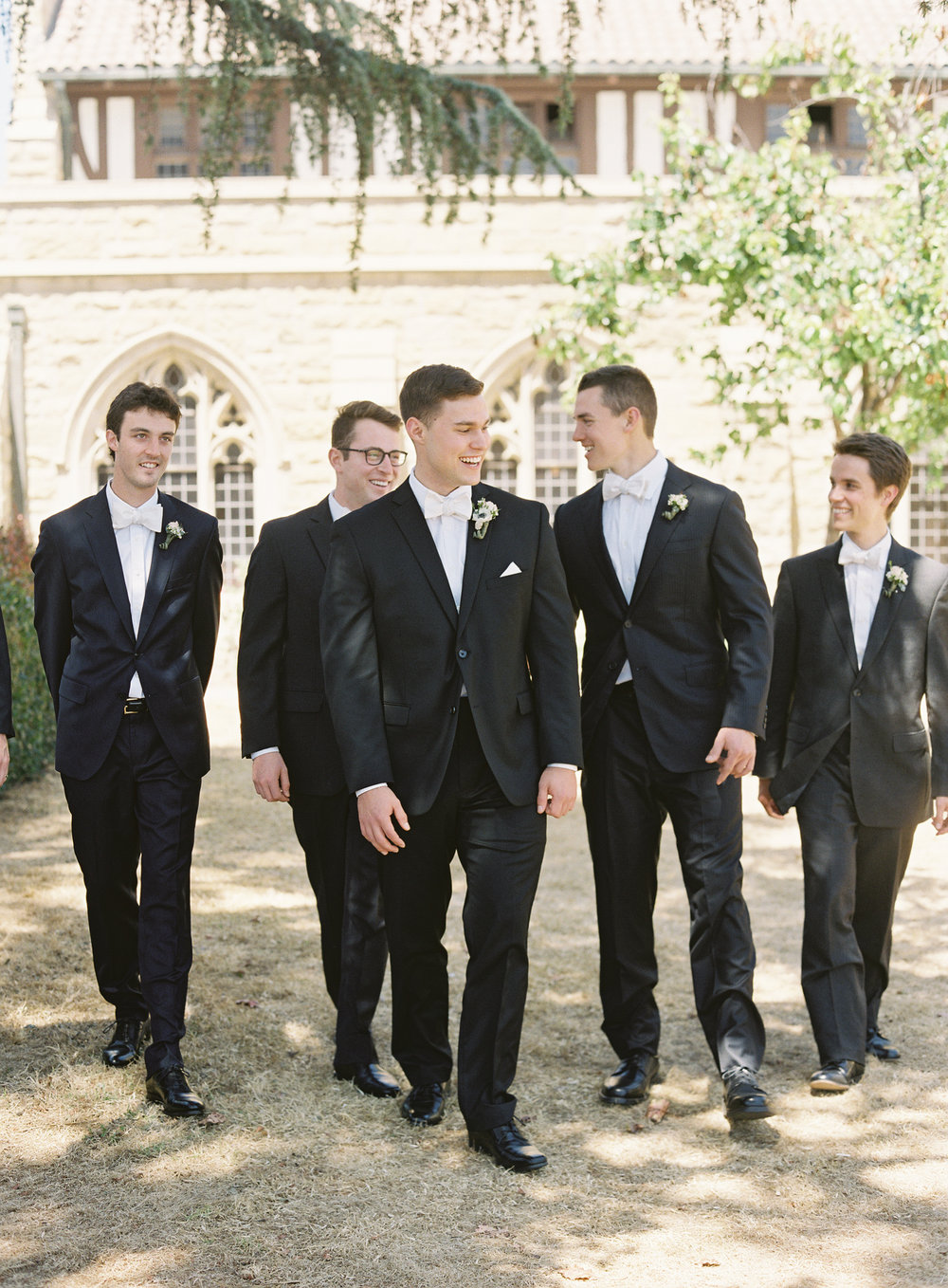www.santabarbarawedding.com | Trinity Episcopal Church | Elings Park | Sarah Weir | Burlap & Bordeaux | Groomsmen