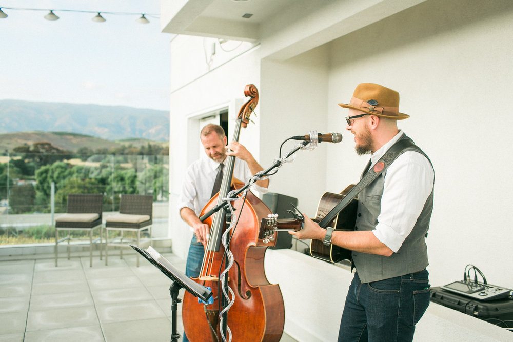 www.santabarbaraweddingstyle.com | Bryan Titus Trio | Wedding Band | Kelsey Crews Photography