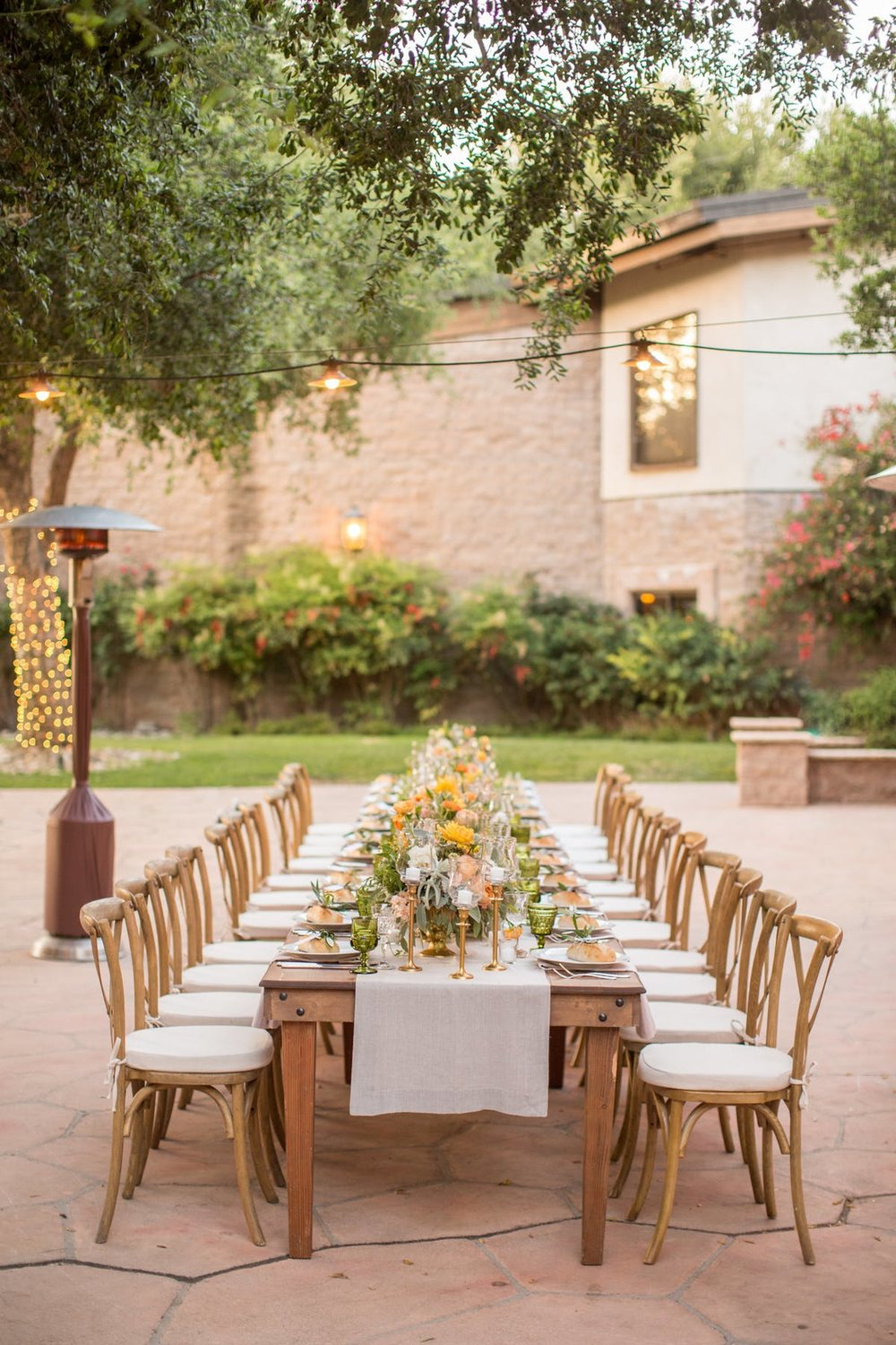 www.santabarbarawedding.com | Anna J Photography | Alegria by Design | Firestone Vineyard | Reception Table