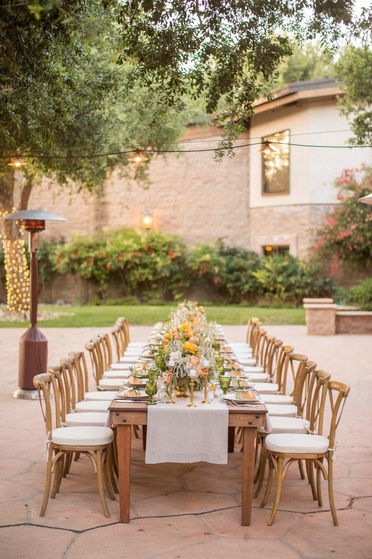 www.santabarbarawedding.com | Anna J Photography | Alegria by Design | Firestone Vineyard | Reception Table