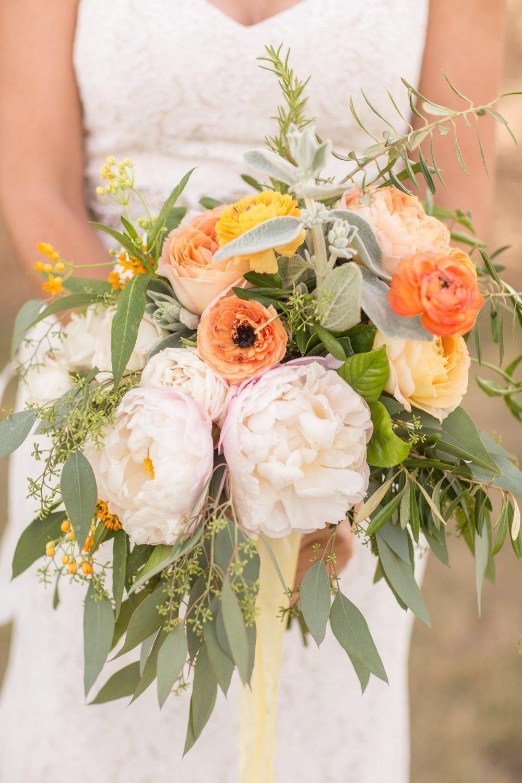 www.santabarbarawedding.com | Anna J Photography | Alegria by Design | Firestone Vineyard | Bridal Bouquet