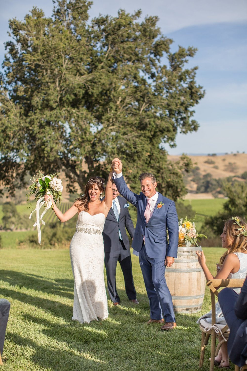 www.santabarbarawedding.com | Anna J Photography | Alegria by Design | Firestone Vineyard | Ceremony