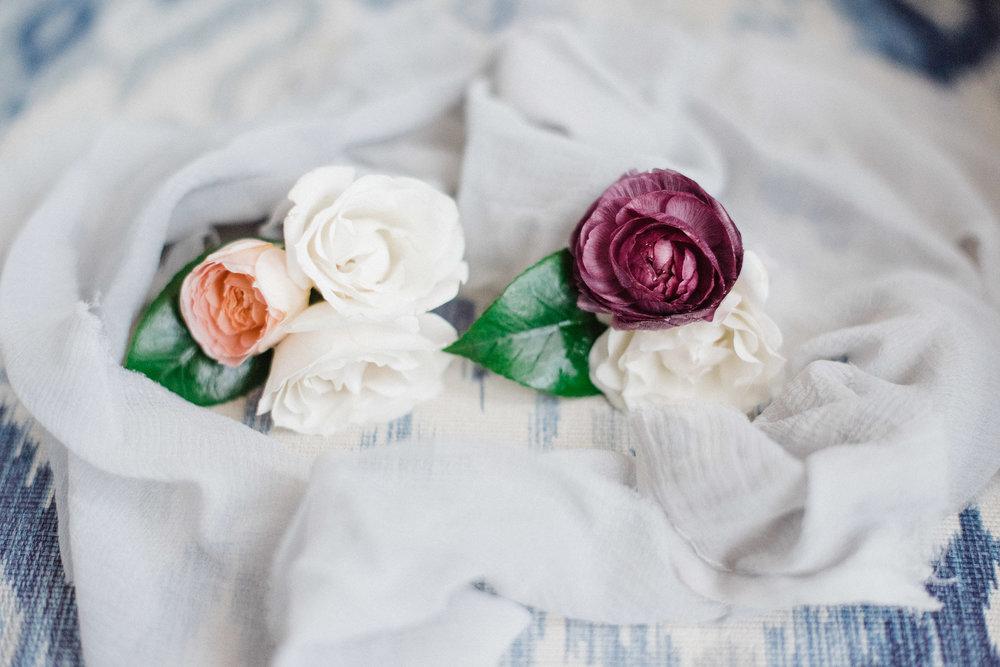 www.santabarbarawedding.com | Canary Hotel | Grace Kathryn Photography | Boutonnieres
