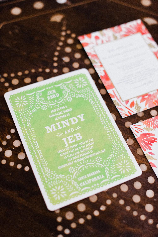 www.santabarbarawedding.com | Canary Hotel | Grace Kathryn Photography | Wedding Invitations