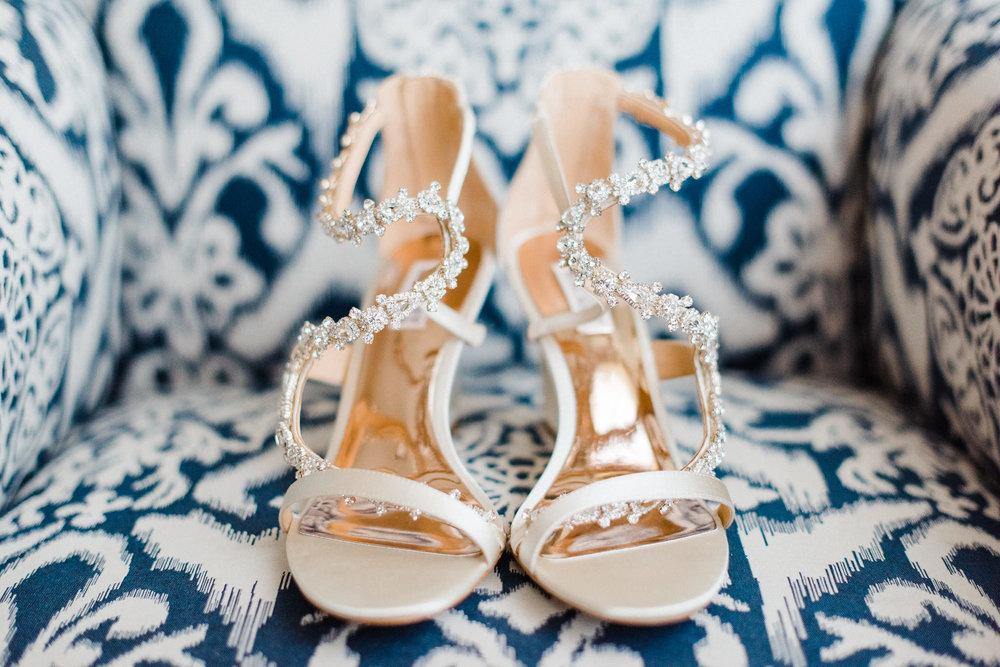 www.santabarbarawedding.com | Canary Hotel | Grace Kathryn Photography | Wedding Shoes