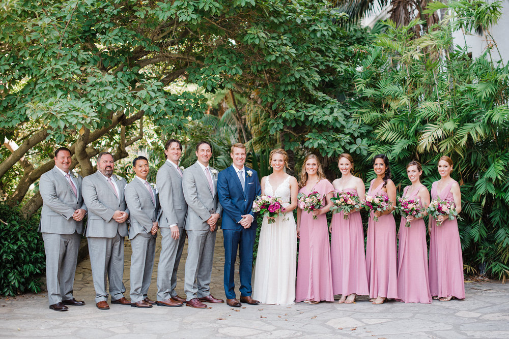 www.santabarbarawedding.com | Canary Hotel | Grace Kathryn Photography | Bridal Party