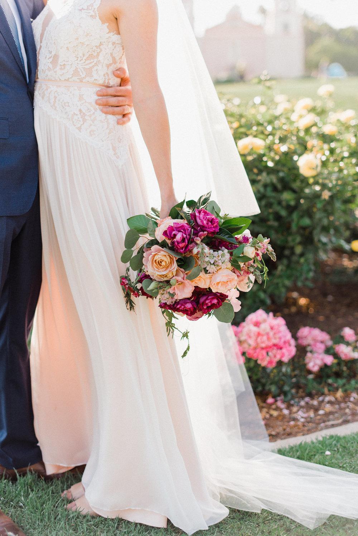 www.santabarbarawedding.com | Canary Hotel | Grace Kathryn Photography | Bridal Bouquet