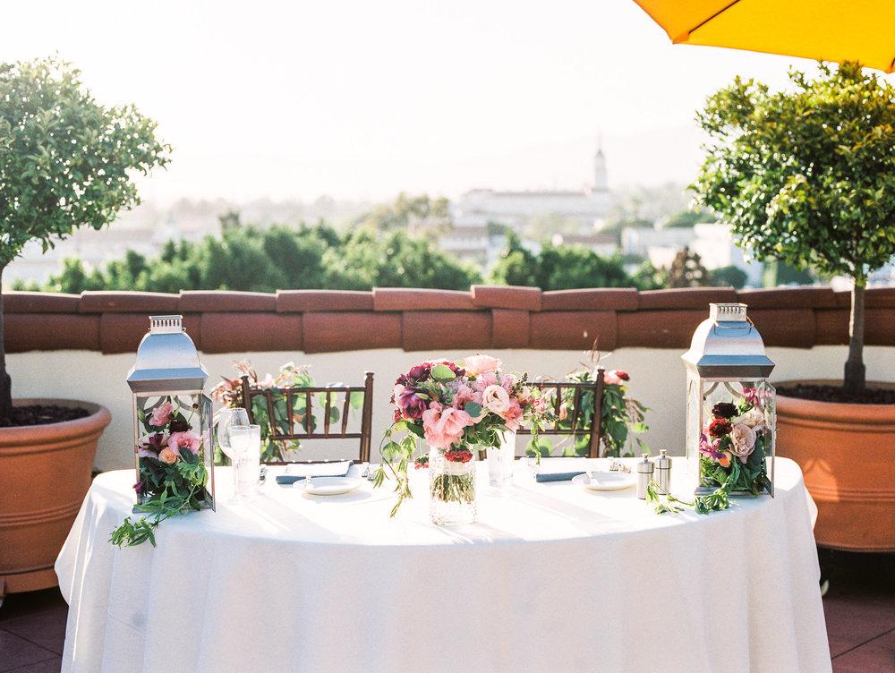 www.santabarbarawedding.com | Canary Hotel | Grace Kathryn Photography | Head Table