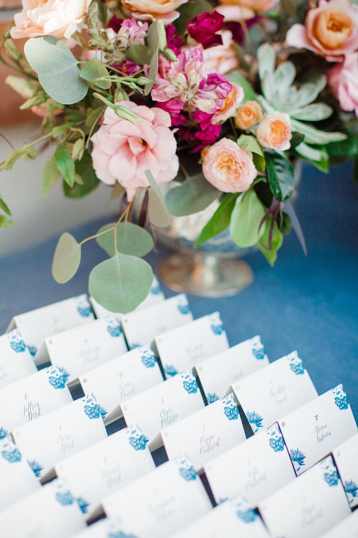 www.santabarbarawedding.com | Canary Hotel | Grace Kathryn Photography | Escort Cards