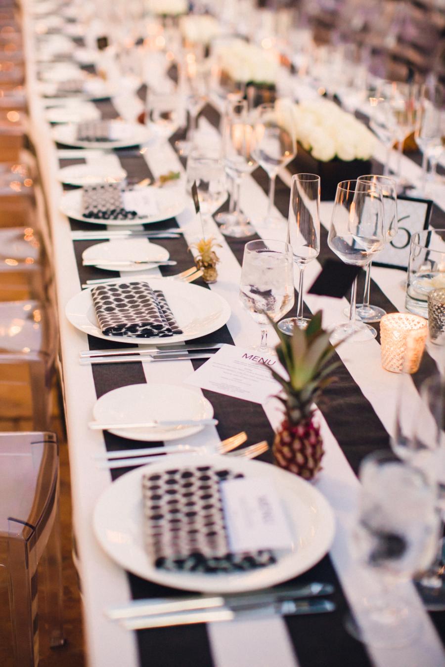 Ann Johnson Events Black and white Classic Four Seasons Biltmore