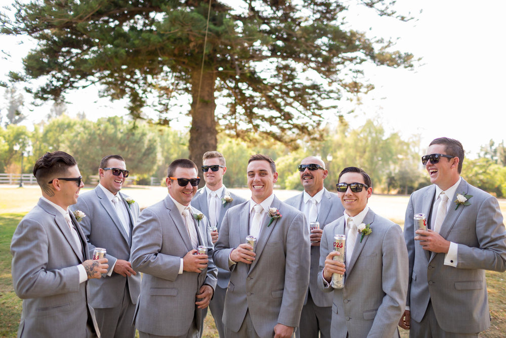 www.santabarbarawedding.com | Camarillo Ranch House | Joshua Rainey | Groomsmen