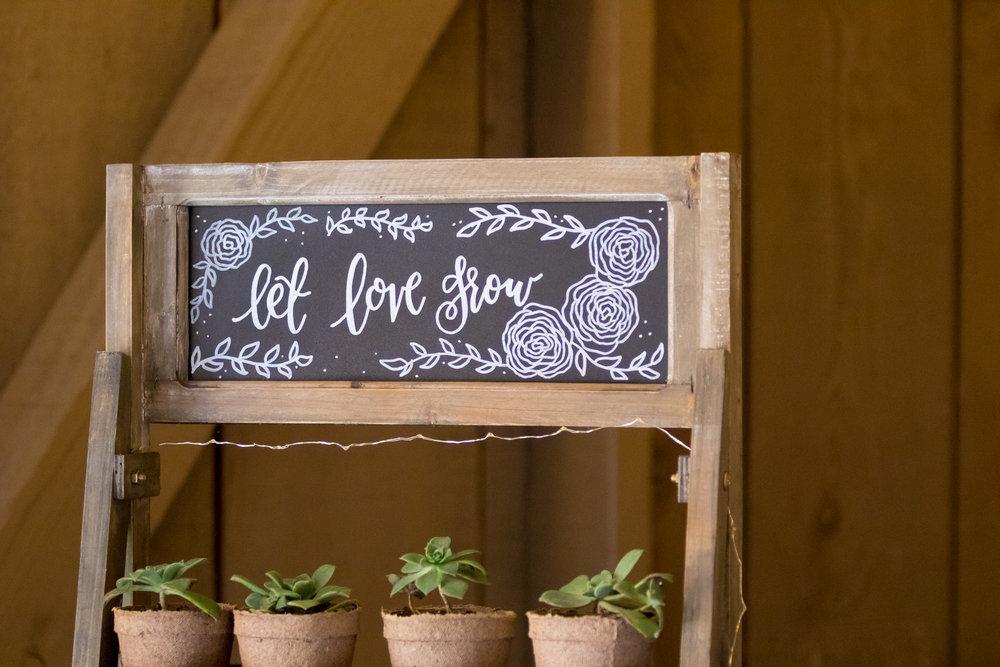 www.santabarbarawedding.com | Camarillo Ranch House | Joshua Rainey | Succulent Wedding Favor
