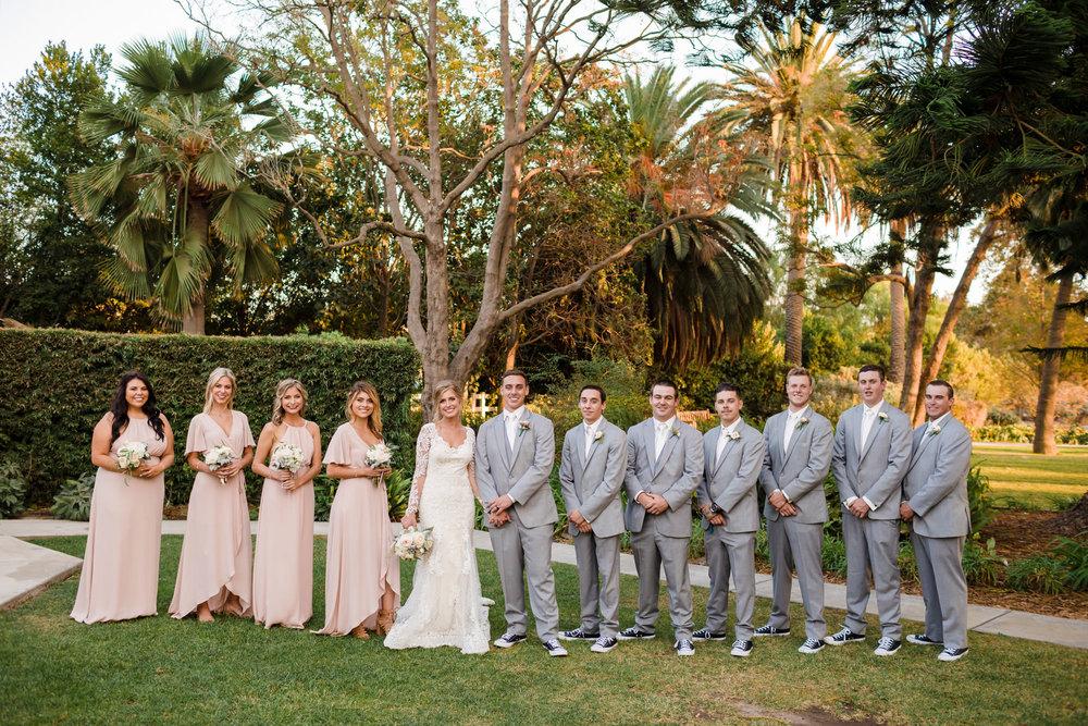 www.santabarbarawedding.com | Camarillo Ranch House | Joshua Rainey | Bridal Party