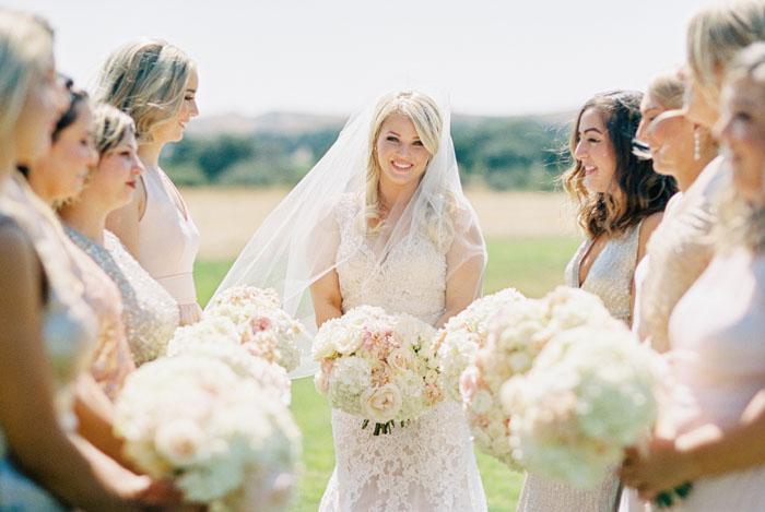 www.santabarbarawedding.com | Crossroads Estate | Michael and Anna Costa | Soigne Productions | Bridesmaids