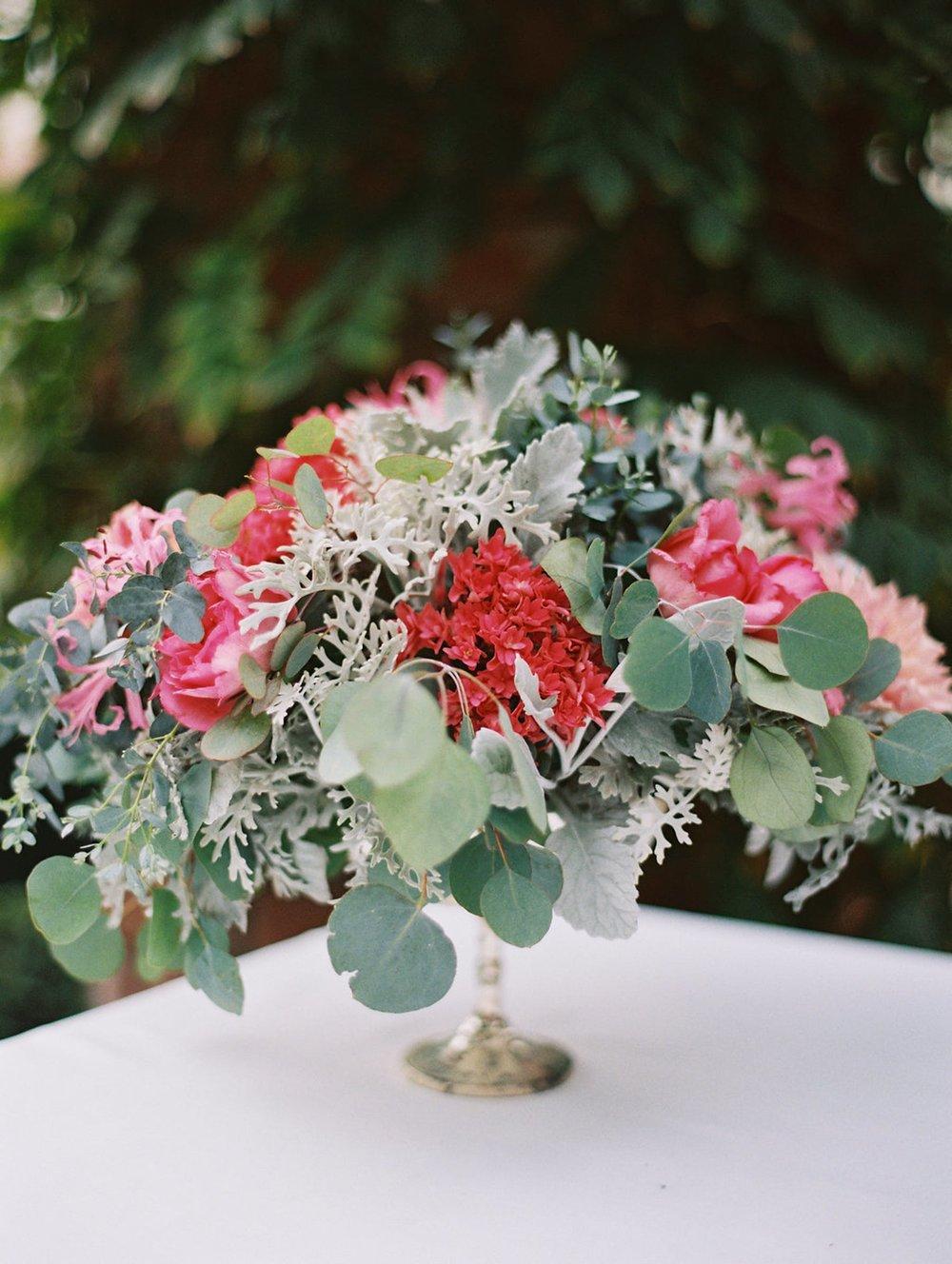 www.santabarbarawedding.com | El Encanto | Coco Rose Design | This Modern Romance | Floral Arrangement