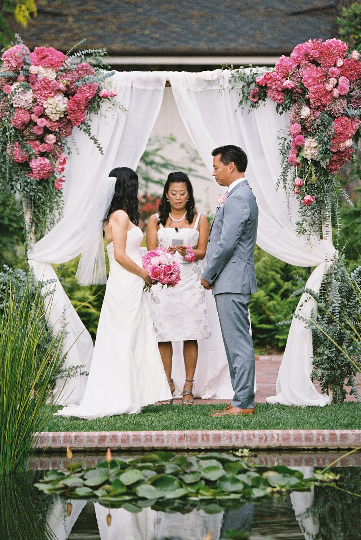 www.santabarbarawedding.com | El Encanto | Coco Rose Design | This Modern Romance | Ceremony