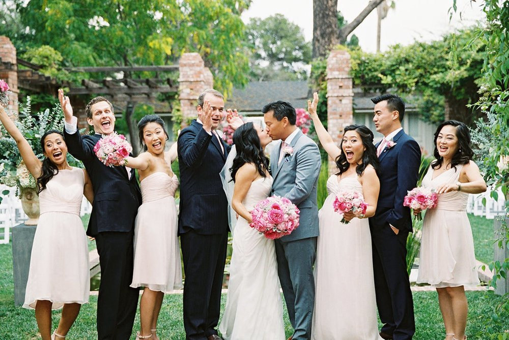 www.santabarbarawedding.com | El Encanto | Coco Rose Design | This Modern Romance | Bridal Party