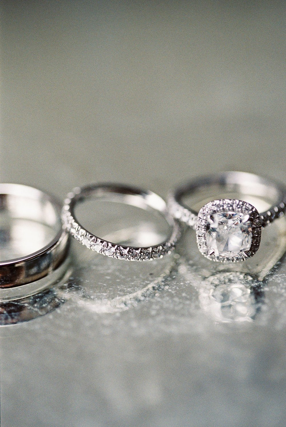 www.santabarbarawedding.com | El Encanto | Coco Rose Design | This Modern Romance | Wedding Rings