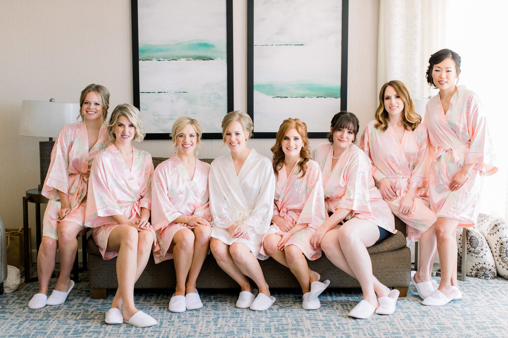 www.santabarbarawedding.com | Jenny Quicksall | Santa Barbara Club | Bluebell Events | Bridesmaids Getting Ready