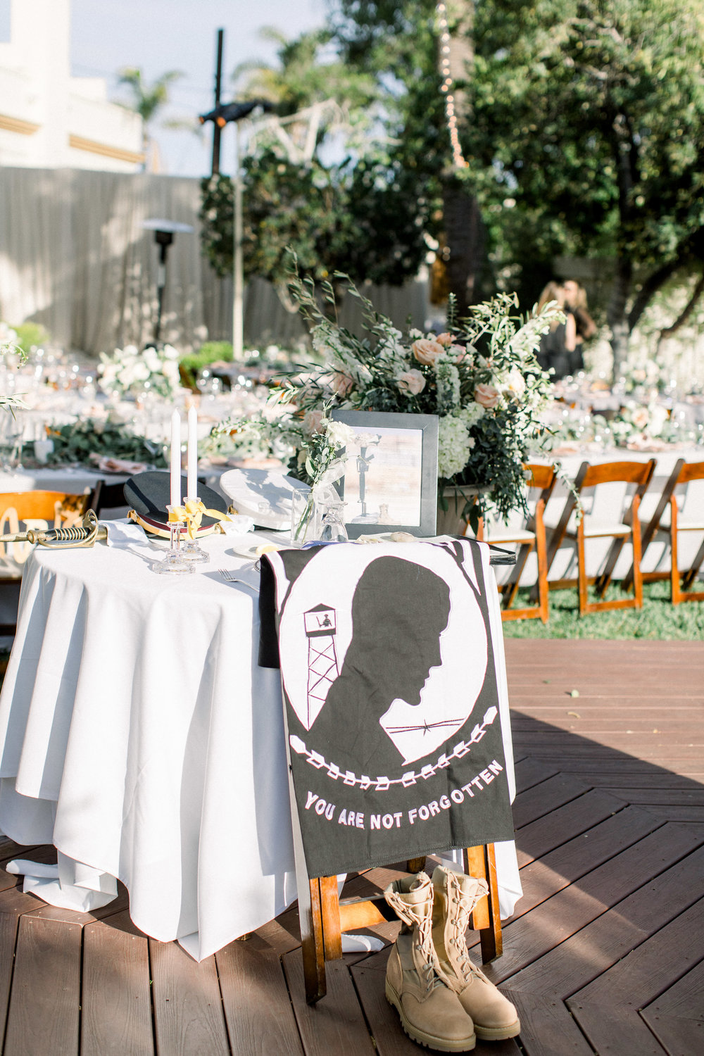 www.santabarbarawedding.com | Jenny Quicksall | Santa Barbara Club | Bluebell Events | Memorial Table