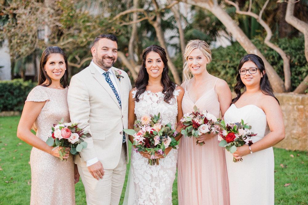 www.santabarbarawedding.com | Grace Kathryn Photography | Santa Barbara Courthouse | Canary Hotel | Amazing Days Events | Bridesmaids