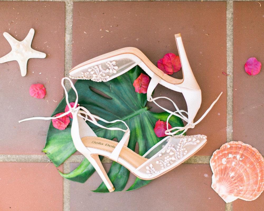 www.santabarbarawedding.com | Laura Ford Photos | Santa Barbara Zoo | Rincon Events | Bride's Shoes