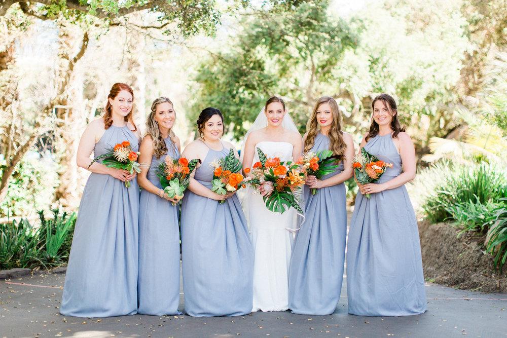 www.santabarbarawedding.com | Laura Ford Photos | Santa Barbara Zoo | Rincon Events | Bridesmaids