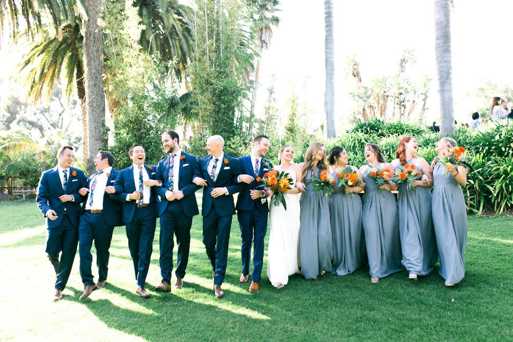 www.santabarbarawedding.com | Laura Ford Photos | Santa Barbara Zoo | Rincon Events | Bridal Party