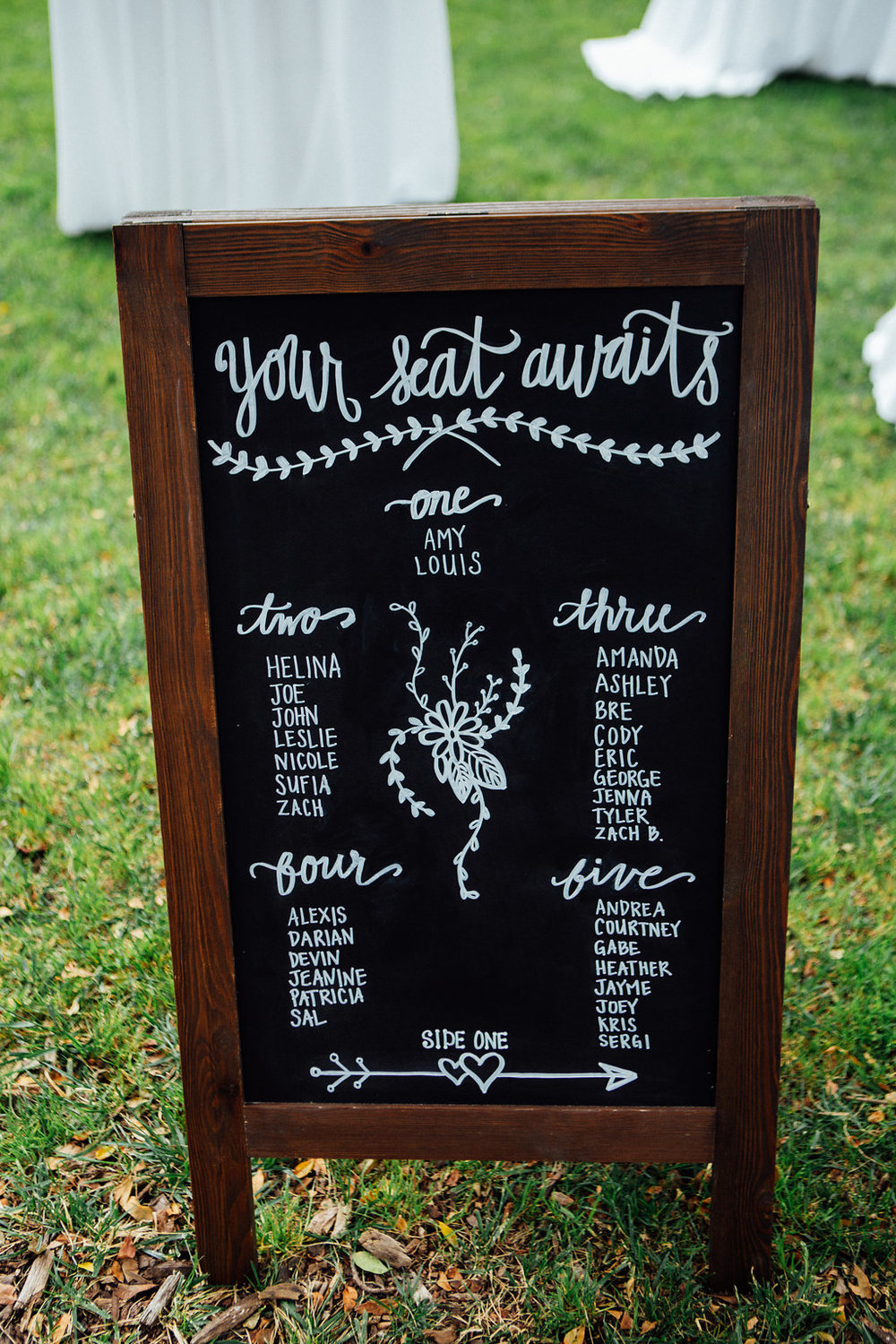 www.santabarbarawedding.com | Just Kiss Collective | Rancho La Patera & Stow House | Seating Chart