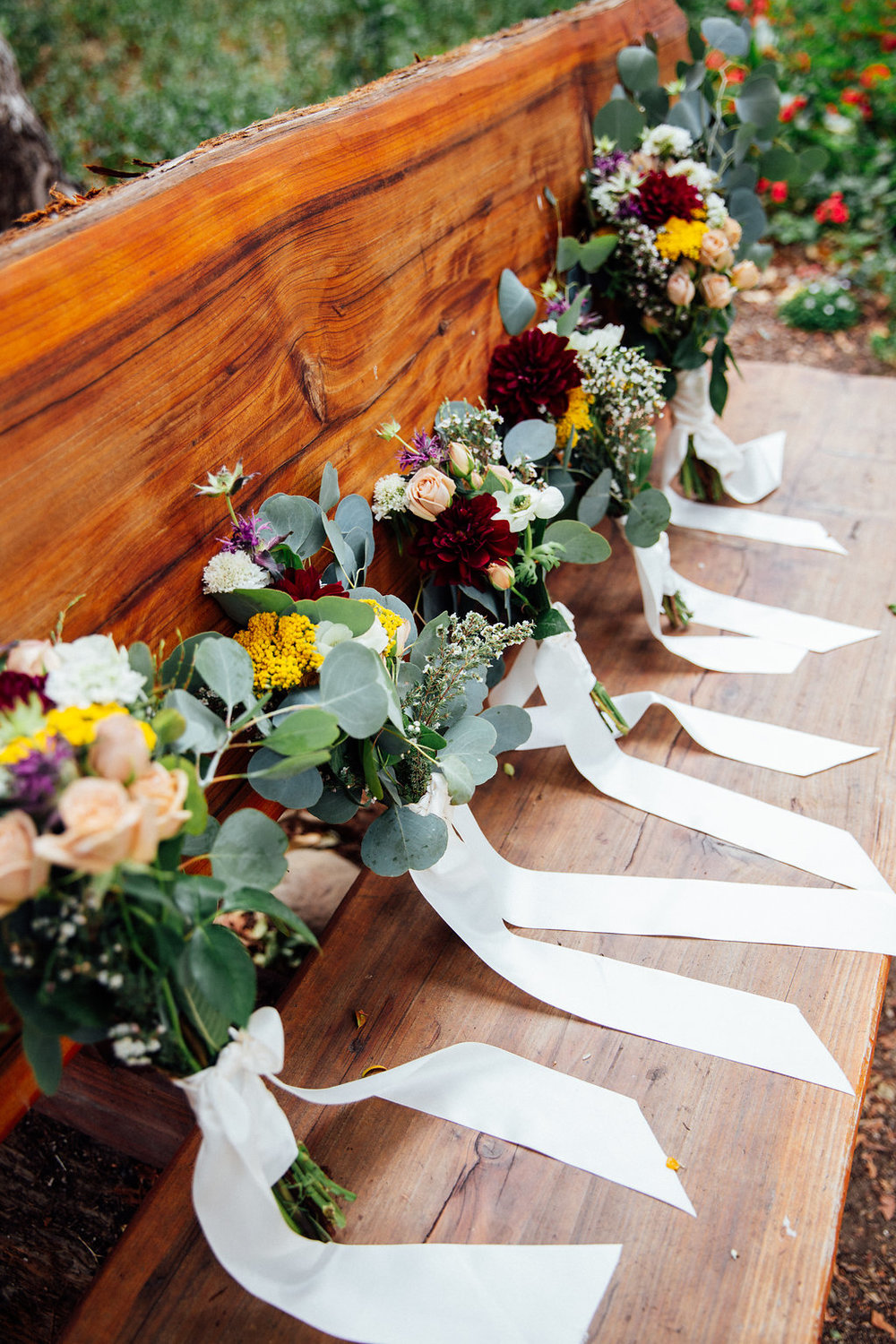 www.santabarbarawedding.com | Just Kiss Collective | Rancho La Patera & Stow House | Bouquets