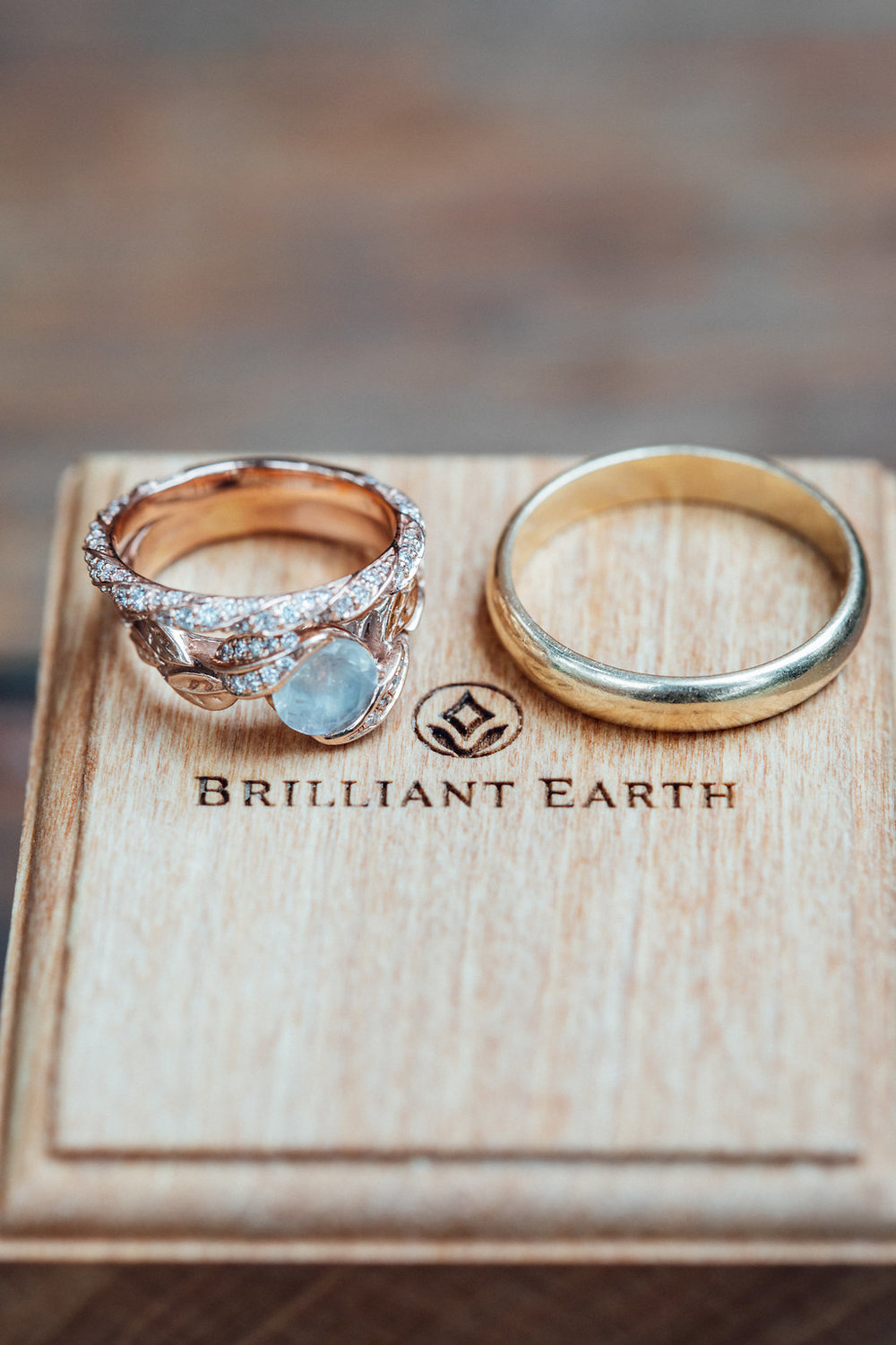 www.santabarbarawedding.com | Just Kiss Collective | Rancho La Patera & Stow House | Wedding Rings
