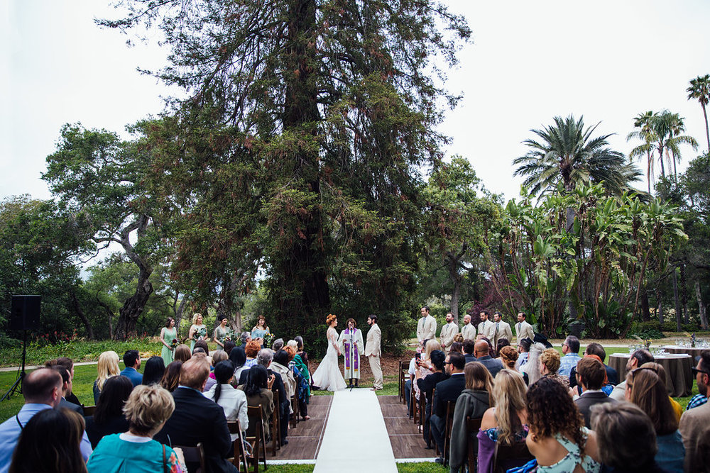 www.santabarbarawedding.com | Just Kiss Collective | Rancho La Patera & Stow House | Ceremony