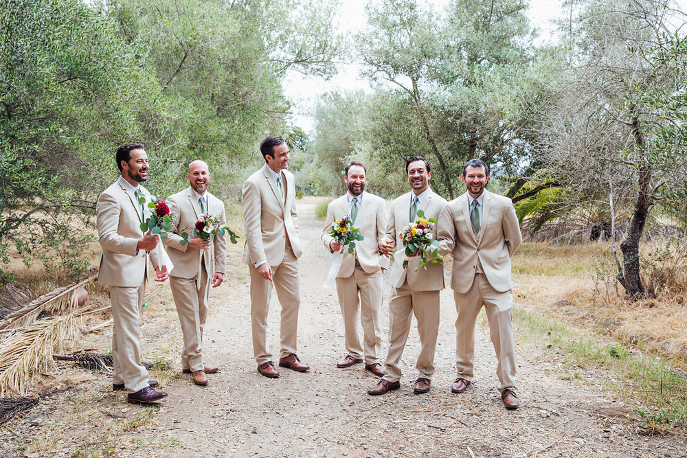 www.santabarbarawedding.com | Just Kiss Collective | Rancho La Patera & Stow House | Groomsmen