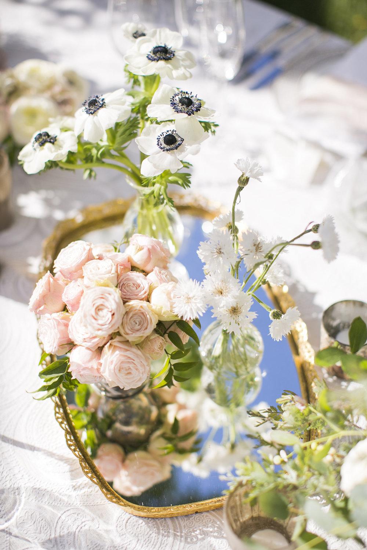 www.santabarbarawedding.com | Event of the Season | San Ysidro Ranch | Birds of a Feather | Reception Flowers